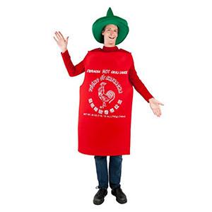 Sriracha Hot Sauce Halloween Costume