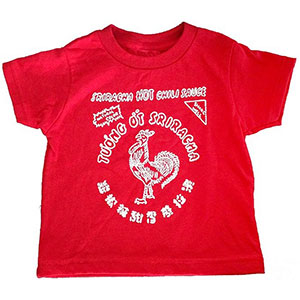Sriracha Hot Sauce Toddler T-Shirt
