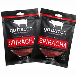Gobacon Sriracha Flavored Bacon Jerky