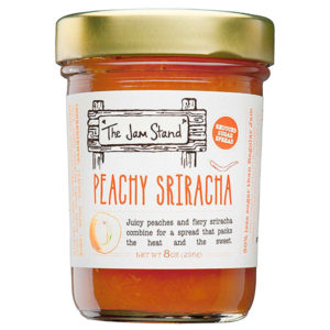 The Jam Stand Peachy Sriracha Jam