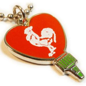 I Heart Sriracha Necklace