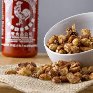 Sriracha Peanuts Snack