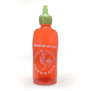 Inflatable Sriracha Hot Sauce Bottle Toy