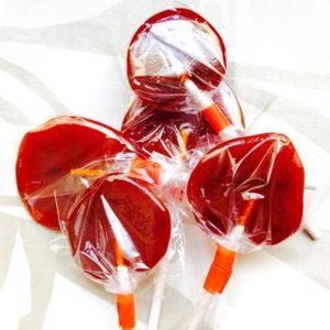 Organic Sriracha Lollipops
