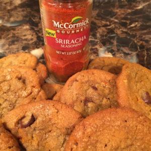 Sriracha Chocolate Chip Cookie