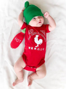 Sriracha Baby Costume